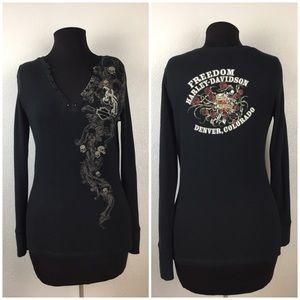 Harley-Davidson Freedom Long Sleeve Shirt. Size L